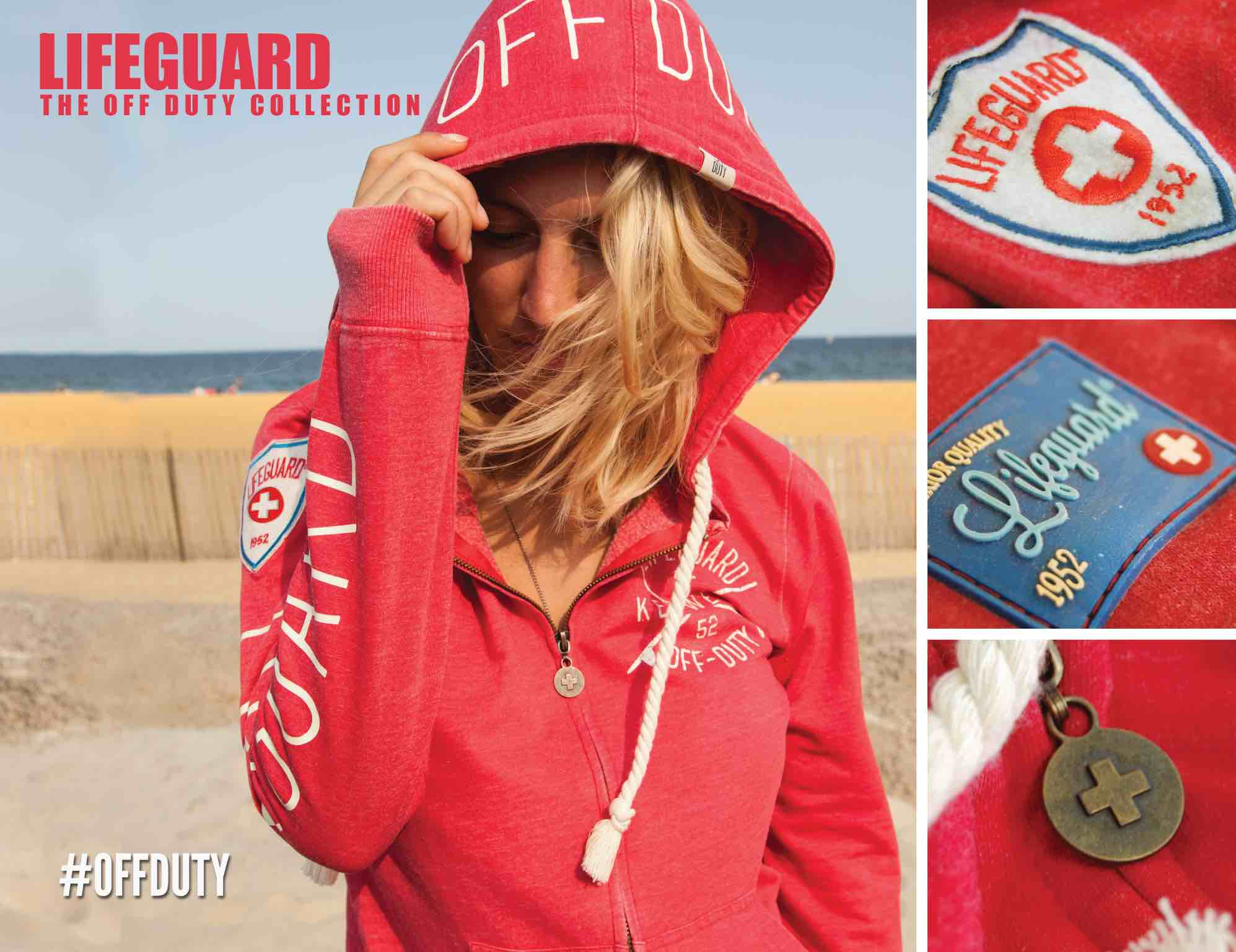 Off duty ladies Sweatpant, Sweatshirts, Beach Shorts | Lifeguard