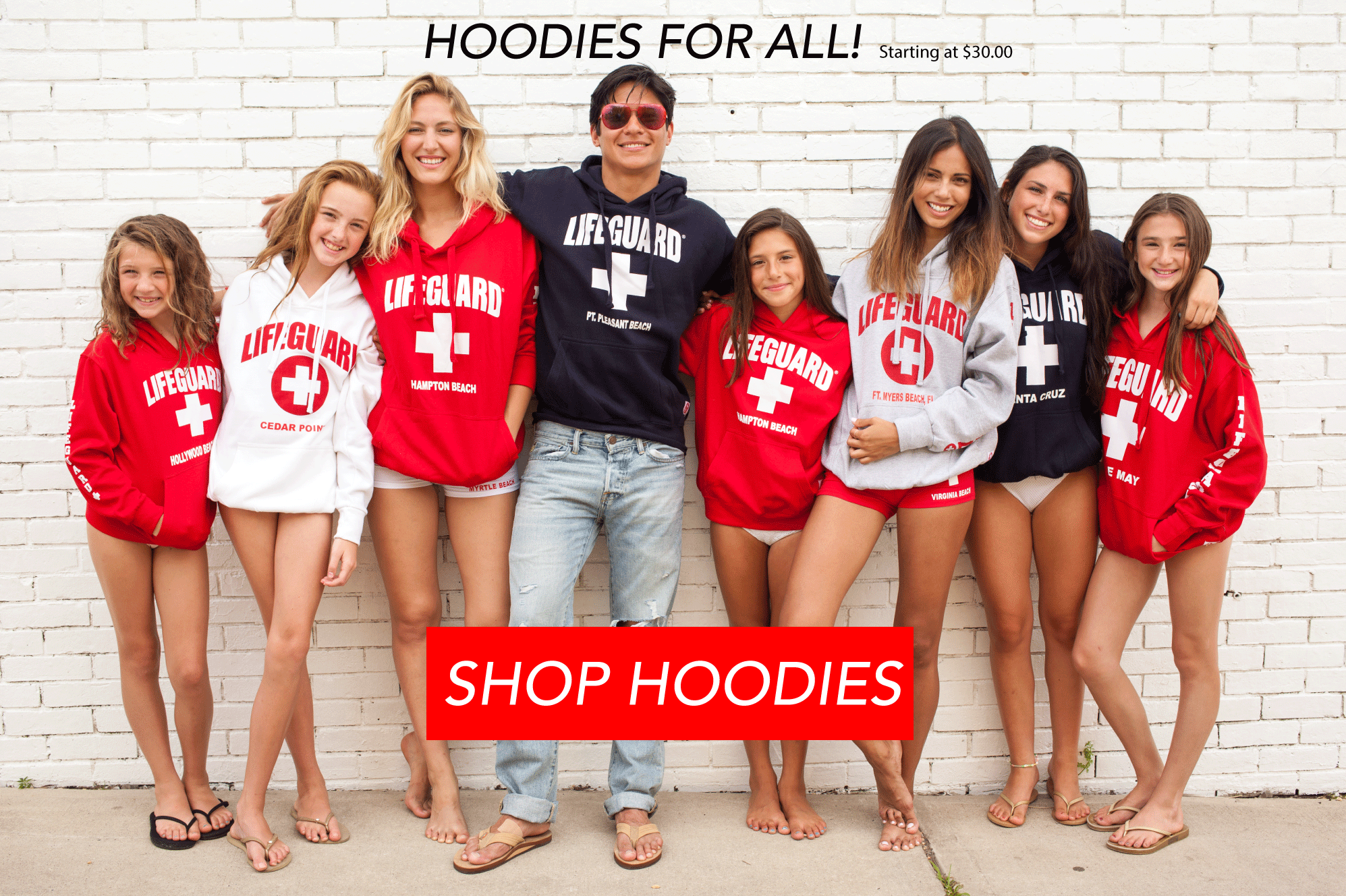Lifeguard Apparel Collection | men, women, kids, youth, boys, girls