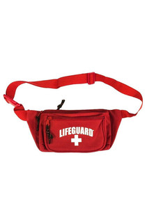 Red Fanny Pack | Beach Lifeguard Apparel Online Store