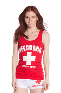 Ladies Jersey Cotton Tank Top | Beach Lifeguard Apparel Online Store