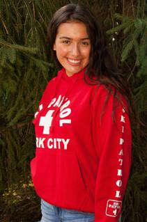 Ladies Ski Patrol Hoodie | Beach Lifeguard Apparel Online Store