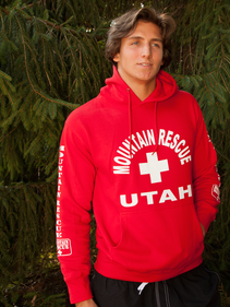 Guys Red Mountain Rescue Pullover Hoodie