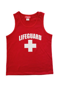 Red | Youth Tank | Beach Lifeguard Apparel Online Store