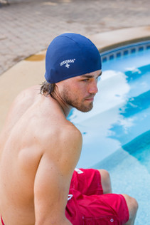 Unisex Lycra Stretch Swim Cap
