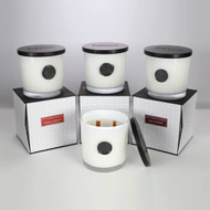 Soho Classic White Double Wood Wick Collection
