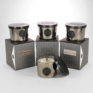 Greenwich Platinum Single Wood Wick Collection