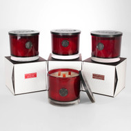 Holiday Red Gramercy Penthouse Triple Wood Wick