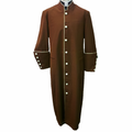 Men's Clergy Robes in Brown & Creme Cassocks for Men