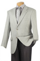 Men's Silver Gray Sport Coat Wool