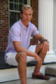 Men's Made In The South NC Cotton Polo Shirt - Lavender