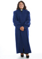 904 P. Men's & Women's Clergy Robe - Royal Blue