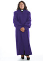 905 P. Men's & Women's Clergy Robe - Purple