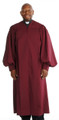 906 P. Men's & Women's Clergy Robe - Burgundy