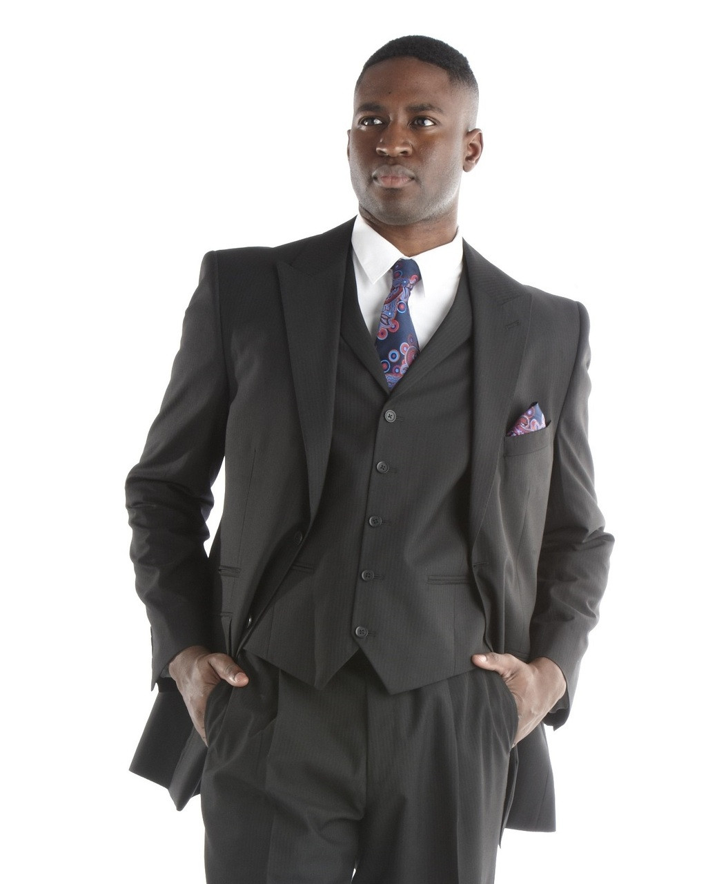 Clergy Robes, Clerical Shirts, & Mens Suits   Mens Black