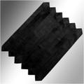 Velvet Clergy Doctor Bars in Black