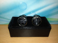 *2 Pc. Exquisite Fabric Cufflinks - Black
