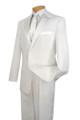 White 2-Button Tuxedo