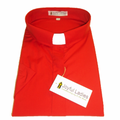 Women's Short-Sleeve Tab Collar Clergy Shirt in Red - Ladies Clergy Shirts