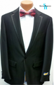 Steve Harvey Premium 1-Button Tuxedo - Black