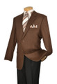 Brown Wool Blazer Sport Coat