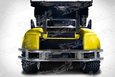 E-Z-Go TXT Rear Bumper on Cart