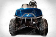 Yamaha Drive Sport Runner Brush Guard on Cart