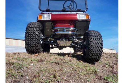 Club Car DS with All Sports Long Travel Lift Kit