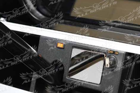 Club Car DS Etiquette Cover on Cart