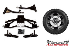 "22"" SS112 Tire/Wheel & Precedent 6"" A-Arm Combo"