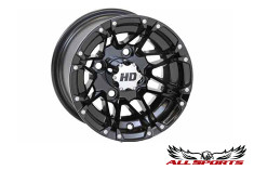 "STI Gloss Black HD3 10"" Wheel"