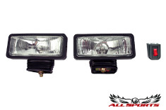 2 x 6 Clear Driving Lights