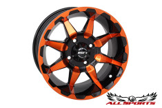 "STI HD6 Radiant 10"" Wheel - Orange"