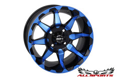 "STI HD6 Radiant 10"" Wheel - Blue"