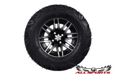 """12"""" ITP SS316 on 23"""" ITP Ultracross Tires - Machined"""
