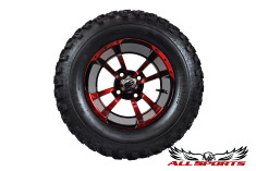 "12"" ITP Stormtrooper on 23"" Slasher Tires - Red"