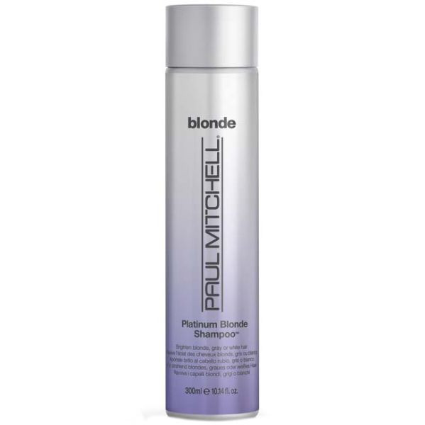 paul mitchell platinum blonde shampoo the glamour shop. Black Bedroom Furniture Sets. Home Design Ideas