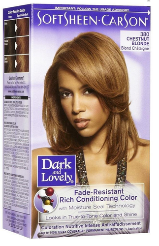 Dark And Lovely Hair Color Chestnut Blonde  The Glamour Shop