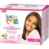 Just for Me No Lye Kids Relaxer Kit Super