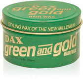DAX Green & Gold Styling Wax 3.5oz
