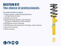 Bilstein B12 2008 Mini Cooper Clubman Front and Rear Suspension Kit