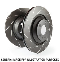 EBC 07+ Mini Convertible 1.6 USR Slotted Front Rotors