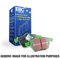 EBC 14+ Mini Hardtop 1.5 Turbo Cooper Greenstuff Rear Brake Pads