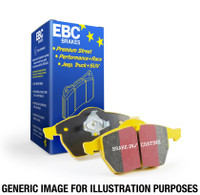 EBC 14+ Mini Hardtop 1.5 Turbo Cooper Yellowstuff Rear Brake Pads