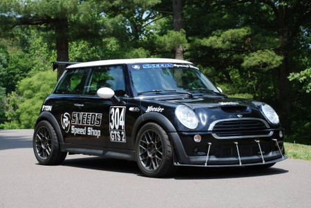 R53 race front splitter