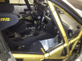 Subaru rally roll cage