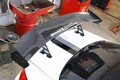 Sneed speed race wing top side view on e92 M3