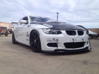 335 bmw front splitter
