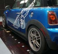 R56 MINI Cooper S Side Splitter