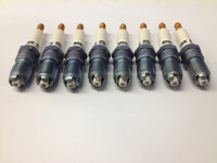 mustang gt racing spark plug set by brisk