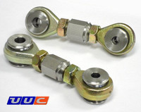 PAIR (2) rear swaybar links (center adjust) for adjustable swaybars for E36 3-series PAIR (2) rear swaybar links (replacement) for adjustable swaybars - center adjust style